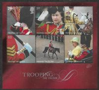 GB SG MS2546 2005 Trooping the Colour Miniature Sheet unmounted mint